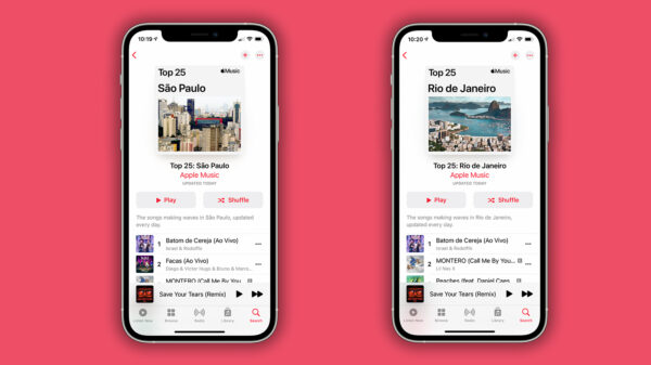 São Paulo E Rio De Janeiro Estão No Apple Music Charts
