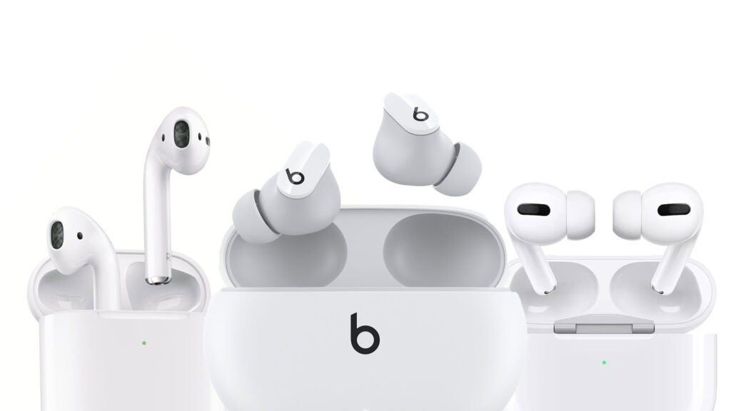 Comparativo: AirPods x AirPods Pro x Beats Studio Buds